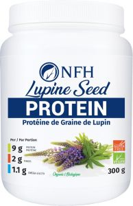 NFH Lupine Seed Protein (Organic, Gluten-Free and Vegan), 300g