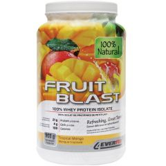 4Ever Fit Fruit Blast 100% Natural Whey Protein Isolate, 2lb