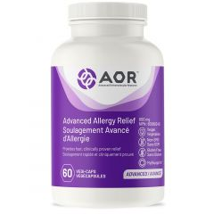 AOR Advanced Allergy Relief, 60 Vegetable Capsules