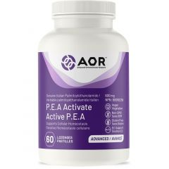 AOR P.E.A Activate 600mg (Endocannabinoid System Support), 60 Watermelon Flavoured Lozenge