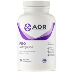 AOR Pro Andrographis, 120 Capsules