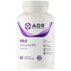 AOR Pro CoEnzyme Q10 100mg, 60 Capsules