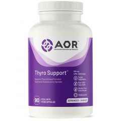 AOR Thyro Support, 518mg, 90 Vegi-Capsules