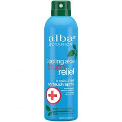 Alba Botanica Cooling Aloe After Sun Burn Relief Continuous Spray, 171g