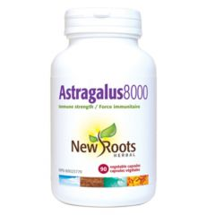 New Roots Astragalus 8000 Immune Strength 500mg, 90 Capsules