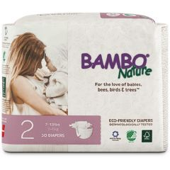 Bambo Nature Baby Diapers, Certified 100 percent free of all dangerous chemicals