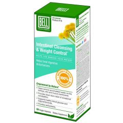 Bell Intestinal Cleansing & Weight Control (#10), 60 Capsules