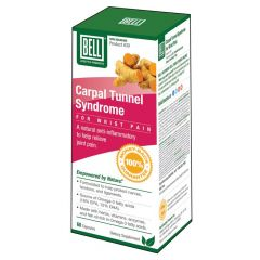 Bell Wrist Pain Carpal Tunnel Syndrome (#30), 60 Capsules