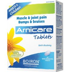 Boiron Arnicare Tablets for Muscle & Joint Pain, 60 Tablets