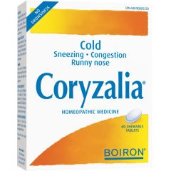Boiron Coryzalia, Cold for Adults, 60 Tablets