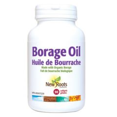 New Roots Borage Oil 1000mg Certified Organic
