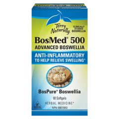 Terry Naturally Bosmed™ 500 (Halal) Advanced Boswellia, 60 Softgels