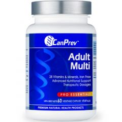 CanPrev Adult Multi, 60 Vegetable Capsules
