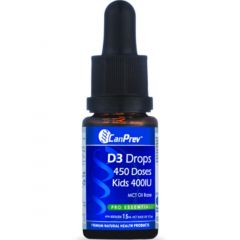 CanPrev D3 Drops for Baby & Kids 400IU, 450 Drops (15ml)