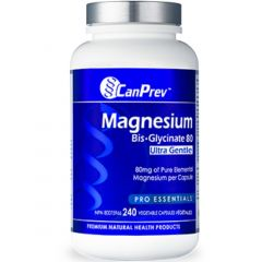 CanPrev Magnesium Bis-Glycinate 80mg Ultra Gentle