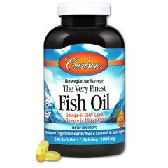 Carlson The Very Finest Fish Oil Softgels