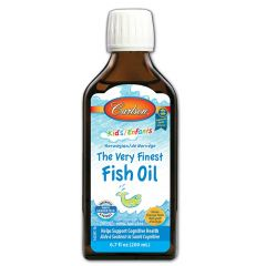 Carlson Very Finest Fish Oil for Kids, 200ml