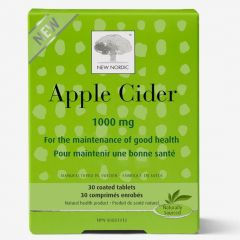 New Nordic Apple Cider 1000mg, 30 Coated Tablets