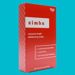 Zimba Coconut Whitening Strips (14 treatments)