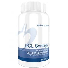 Designs For Health DGL Synergy, 90 Chewable Tablets