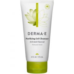 Derma E Purifying Gel Cleanser, Activated Charcoal, 175ml