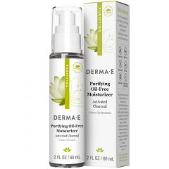 Derma E Purifying Oil Free Moisturizer, Activated Charcoal, 50ml
