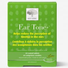 New Nordic Ear Tone, 60 Tablets