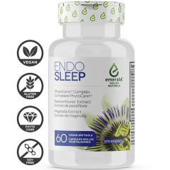 Emerald Health Naturals Endo (Endocannabinoid) Sleep, 60 Softgels