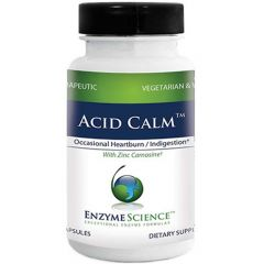 Enzyme Science Acid Calm, 60 Capsules