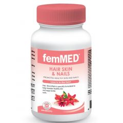 FemMED Hair, Skin & Nails, 60 Vegetable Capsules