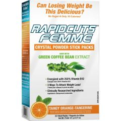 FEMMEFit Rapidcuts Femme Crystal Powder Packets, 22 Packets