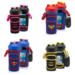 PERFORMA FitGO DC COMICS all-in-one shaker cup and organizer