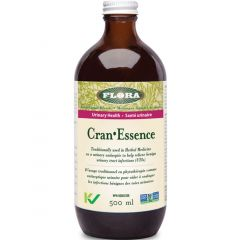 Flora Cran-Essence (Herbal Urinary Tract Infection UTI Relief), 500ml