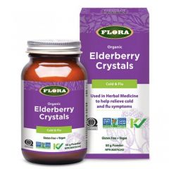 Flora Elderberry Crystals (Cold and Flu), 50g