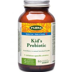 Flora Udo's Choice Super Children's Probiotic 5 Billion (Age 4 and Older), 60 Vegetarian Capsules (Refrigerated)