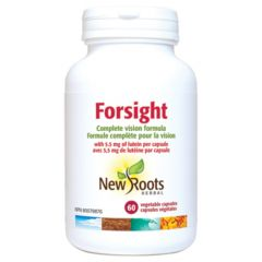 New Roots Forsight (Complete Vision Formula with 5.5mg Lutein)