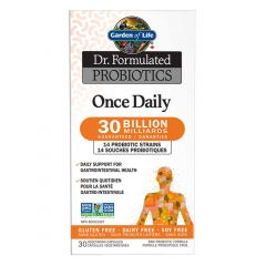 Garden of Life Dr. Formulated Probiotics Once Daily 30 Billion, 30 Vcaps