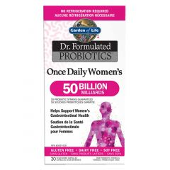 Garden of Life Dr. Formulated Probiotics Once Daily Women's 50 Billion (Shelf Stable), 30 Vcaps