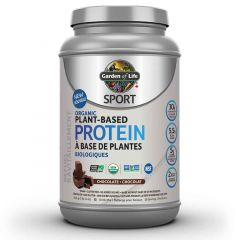 Garden of Life Sport Protein Organic Plant Based Protein, 806g-840g