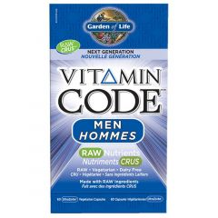 Garden of Life Vitamin Code for Men, 60 Vcaps