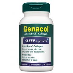 Genacol Sleep & Joints (With Melatonin), 90 Capsules