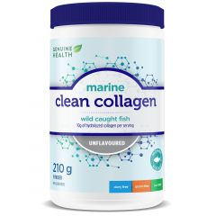 Genuine Health Clean Collagen Marine Collagen (Wild Caught & Non-GMO)