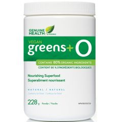 Genuine Health Vegan Greens+ O (60% off! Read expiry before purchase)