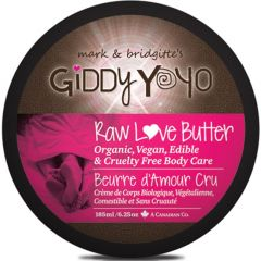 Giddy Yoyo Raw Love Butter (Certified Organic)