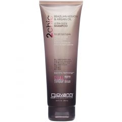 Giovanni Eco Chic Ultra Sleek Shampoo, Brazilian Keratin & Argan Oil, For All Hair Types, 250ml