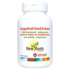 New Roots Grapefruit Seed Extract 406mg, 90 Capsules