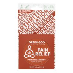 Green Goo Pain Relief (with Arnica), 1.82 oz Tin