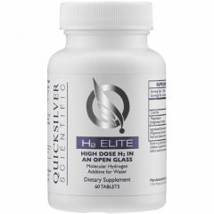 Quicksilver Scientific Liposomal H2 Elite, 60 Tablets (Will Ship From West Warehouse)