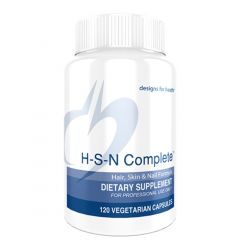 Designs For Health HSN Complete (Hair-Skin-Nails), 120 Capsules