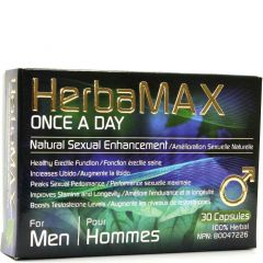 HerbaMAX Once a Day for Men, 30 Capsules